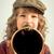 少年 · 演奏 · トランペット · 音楽 · 子 · 楽しい - ストックフォト © yaruta