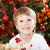 natal · retrato · feliz · criança · decorado - foto stock © Yaruta