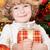 Happy child holding gift box stock photo © Yaruta