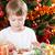 feliz · criança · jogar · decorações · árvore · de · natal · família - foto stock © Yaruta