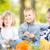 rodziny · piknik · jesienią · szczęśliwą · rodzinę · odkryty · parku - zdjęcia stock © Yaruta