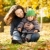 woman with child having fun in autumn stock photo © yaruta