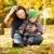 mujer · nino · diversión · otono · feliz · familia - foto stock © Yaruta
