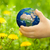 earth in childrens hands stock photo © yaruta