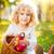 ребенка · корзины · яблоки · осень · парка - Сток-фото © yaruta