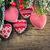 tricotado · padrão · forma · coração · projeto · fundo - foto stock © yaruta