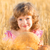 happy child holding bread stock photo © yaruta