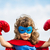 superhero kid girl power concept stock photo © yaruta