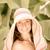 mulher · verão · férias · feliz · sorrindo · árvore - foto stock © Yaruta