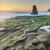 davenport rugged coastline sunset stock photo © yhelfman