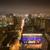 coucher · du · soleil · lumières · centre-ville · parc · bureau · maison - photo stock © yhelfman