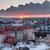 Helsinki · toits · coucher · du · soleil · sombre · nuages - photo stock © yhelfman