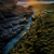 davenport crack sunset stock photo © yhelfman