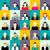 karakter · zakenlieden · avatar · vector · ontwikkelaar · teen - stockfoto © ylivdesign