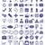 ikonok · mozi · ikon · gyűjtemény · film · mikrofon · hangszóró - stock fotó © ylivdesign