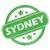grunge · pecsét · Sydney · Ausztrália · üzlet · utazás - stock fotó © ylivdesign