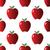 piros · alma · minta · illusztráció · almák · gyümölcs · citromsárga - stock fotó © ylivdesign