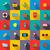 travel set icons stock photo © ylivdesign