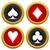 preto · ícones · jogos · de · azar · cassino · jogos - foto stock © ylivdesign