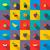 colorido · establecer · verde · azul · rojo · color - foto stock © ylivdesign