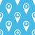 naadloos · contour · kaart · patroon · vector · natuur - stockfoto © ylivdesign