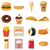 food set icons stock photo © ylivdesign