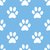 Paw seamless pattern stock photo © ylivdesign