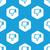не · любить · шестиугольник · шаблон · синий · изображение · символ - Сток-фото © ylivdesign