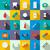 medicine equipment icons set flat style stock photo © ylivdesign