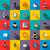 ikona · wsparcie · proste · zestaw - zdjęcia stock © ylivdesign