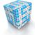 3D · pensar · lógica · palavras · cruzadas · branco · negócio - foto stock © ymgerman
