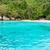 küçük · ada · mavi · deniz · güzel · manzara - stok fotoğraf © yongkiet