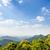 vista · cielo · azul · montana · escénico · punto - foto stock © Yongkiet