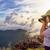 турист · фото · закат · азиатских · подростков - Сток-фото © Yongkiet
