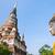buddha · statua · antica · pagoda · cielo · blu · tempio - foto d'archivio © Yongkiet