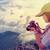 красивой · ретро · камеры · замечательный · небе - Сток-фото © yongkiet