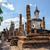 buddha · standbeeld · ruines · oude · vergadering · heldere - stockfoto © Yongkiet