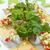 fresco · camarão · branco · prato · verde - foto stock © yongkiet