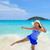 donna · divertimento · spiaggia · Thailandia · bella · donna · blu - foto d'archivio © Yongkiet