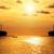 nagyfeszültség · posta · torony · erő · vonal · naplemente - stock fotó © yongkiet