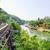 morte · ferrovia · ponte · rio · belo · paisagem - foto stock © Yongkiet