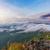 natureza · nascer · do · sol · montanha · belo · paisagem - foto stock © Yongkiet