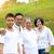 chinesisch · Familienbild · Familie · entspannenden · Park · Frau - stock foto © yongtick