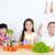 アジア · 子供 · 料理 · 健康的な食事 · 少女 - ストックフォト © yongtick
