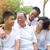 азиатских · Семейный · портрет · китайский · семьи · расслабляющая · парка - Сток-фото © yongtick