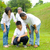 Asian three generation family stock photo © yongtick