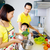 koken · asian · familie · keuken · man · home - stockfoto © yongtick