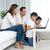 アジア · 家族 · ラップトップを使用して · コンピュータ · 幸せ · 子 - ストックフォト © yongtick