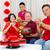 asiático · família · três · gerações · celebrar · ano · novo · chinês - foto stock © yongtick