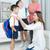 kinderen · school · groep · gelukkig · boeken - stockfoto © yongtick